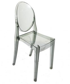 Smoke Grey Ghost Chair - Jollies Commercial Furniture