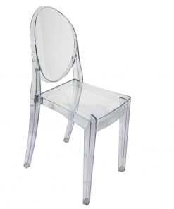 Clear Ghost Chair - Jollies Commercial Furniture