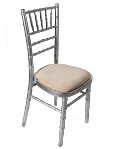 Silver chiavari chair - Jollies Commercial Furniture