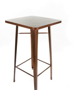 Copper tolix style bar table - Jollies commercial furniture